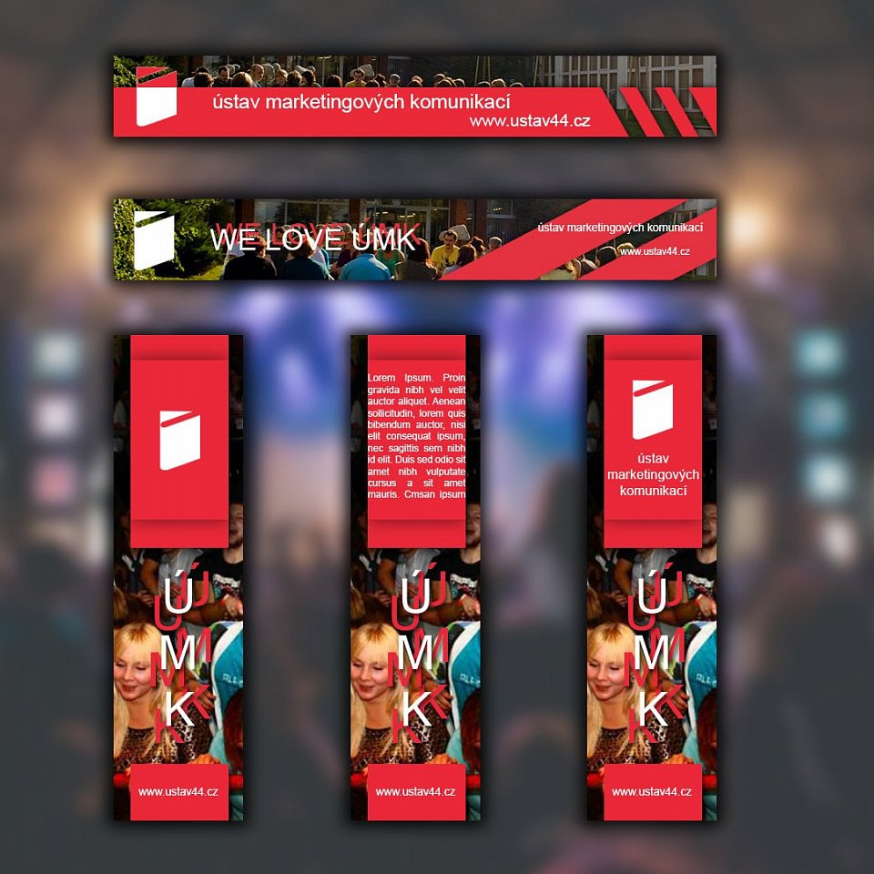 Banners for UTB faculty website